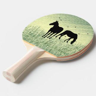 Pala De Ping Pong Caballos en campo