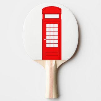 Pala De Ping Pong cabina de teléfono