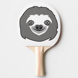 Pala De Ping Pong Cara de la pereza