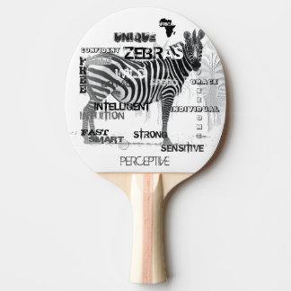 Pala De Ping Pong Cebras únicas