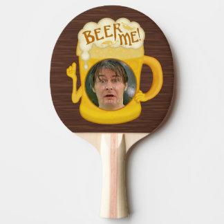 Pala De Ping Pong Cerveza divertida yo foto personalizada el | de