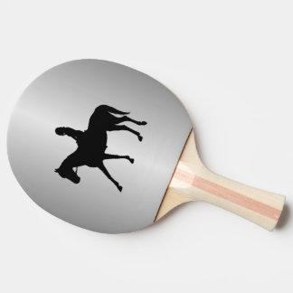 Pala De Ping Pong Chica en la plata del caballo