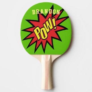 Pala De Ping Pong Color de encargo del prisionero de guerra del