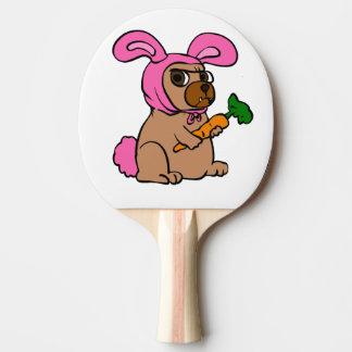 Pala De Ping Pong Conejo del traje del perro