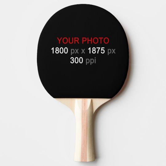 Pala De Ping Pong Cree su propia 1 paleta de encargo del ping-pong