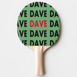 Pala De Ping Pong Dave