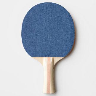 Pala De Ping Pong Dril de algodón azul original de la mezclilla de