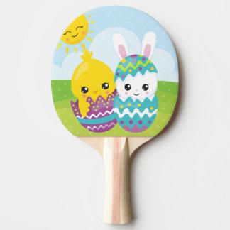 Pala De Ping Pong Dúo lindo de pascua