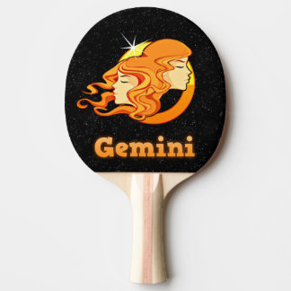 Pala De Ping Pong Ejemplo de los géminis