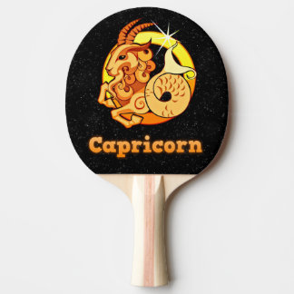 Pala De Ping Pong Ejemplo del Capricornio