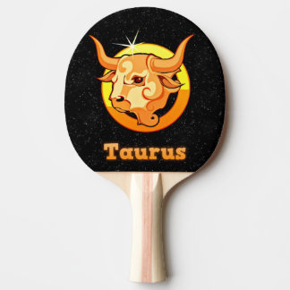 Pala De Ping Pong Ejemplo del tauro