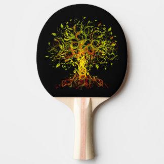 Pala De Ping Pong El árbol remolina paleta del ping-pong