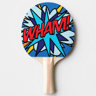 Pala De Ping Pong ¡El arte pop del cómic WHAM!