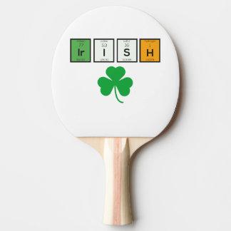 Pala De Ping Pong Elementos químicos irlandeses Zc71n