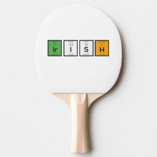 Pala De Ping Pong Elementos químicos irlandeses Zy4ra