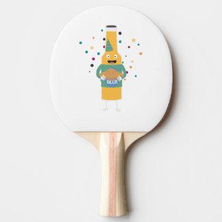 Pala De Ping Pong Embotellador de la cerveza del fiesta con la torta