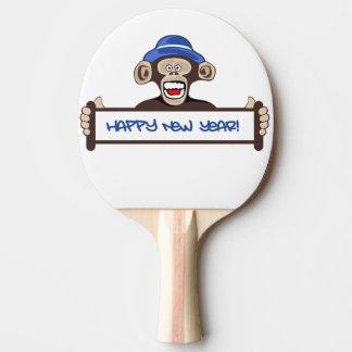 Pala De Ping Pong Feliz Año Nuevo
