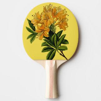 Pala De Ping Pong flores