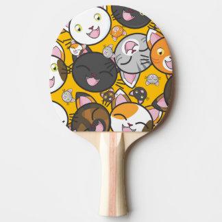 Pala De Ping Pong Gatitos lindos