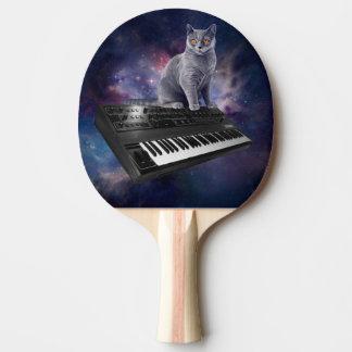 Pala De Ping Pong gato del teclado - música del gato - espacie el