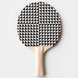Pala De Ping Pong Ilusión óptica blanco y negro