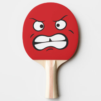 Pala De Ping Pong Intenso asustadizo agresivo