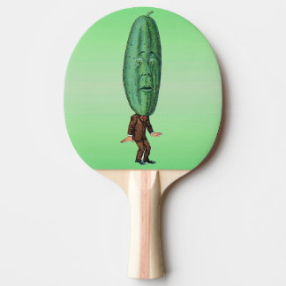 Pala De Ping Pong Juego de Brown del hombre de la salmuera de la