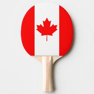 Pala De Ping Pong La bandera canadiense, Canadá