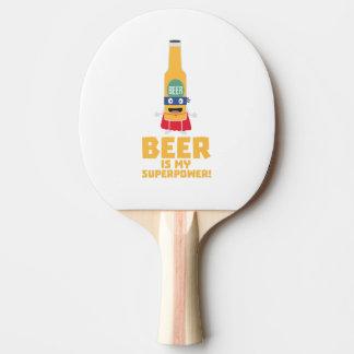 Pala De Ping Pong La cerveza es mi superpotencia Zync7