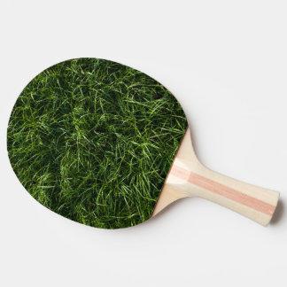 Pala De Ping Pong La hierba es siempre una paleta más verde del
