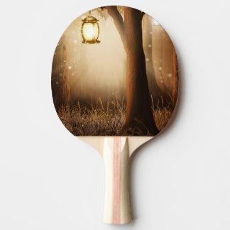 Pala De Ping Pong La linterna que brilla intensamente cuelga en