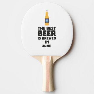 Pala De Ping Pong La mejor cerveza es en junio Z1u77 elaborado
