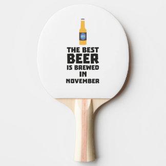 Pala De Ping Pong La mejor cerveza es en noviembre Zk446 elaborado