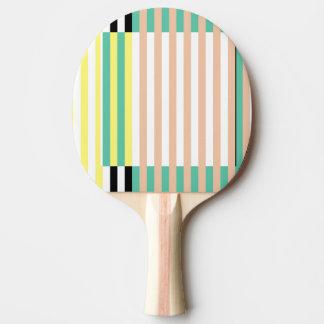 Pala De Ping Pong las rayas acuñan simplemente polvoriento