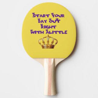 Pala De Ping Pong Licor de la corona