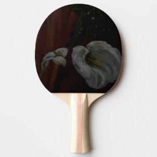 Pala De Ping Pong Lirios de Arum 1 paleta de los tenis de mesa