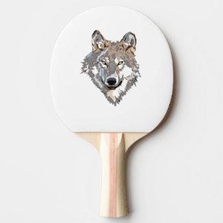 Pala De Ping Pong Lobo principal - ilustracion del lobo - lobo