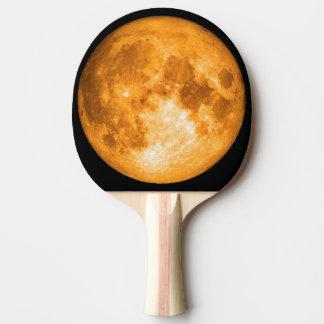 Pala De Ping Pong Luna Llena anaranjada