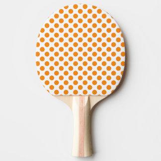 Pala De Ping Pong Lunares anaranjados