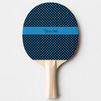 Pala De Ping Pong Lunares azules