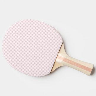 Pala De Ping Pong Lunares de ruborización de la novia