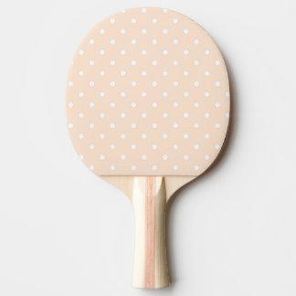 Pala De Ping Pong Lunares ligeros de la sopa de mariscos