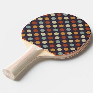Pala De Ping Pong Lunares retros
