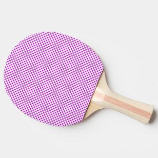 Pala De Ping Pong Lunares violetas del deslumbramiento