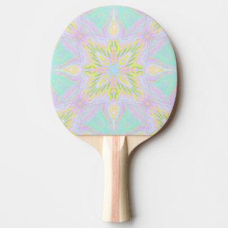 Pala De Ping Pong Mandala del pastel de la mariposa