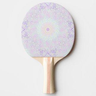 Pala De Ping Pong Mandala en colores pastel del amor suave (grande)