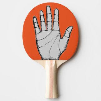Pala De Ping Pong Mano del metal de Steampunk del vintage