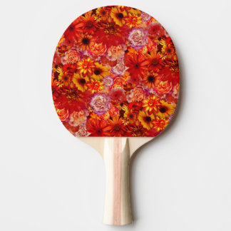 Pala De Ping Pong Margaritas candentes ricas del ramo brillante