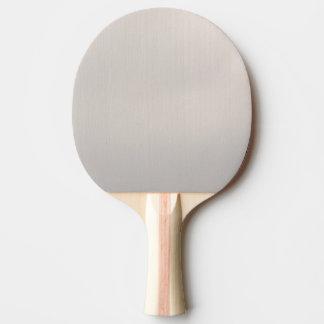 Pala De Ping Pong Metálico plateado
