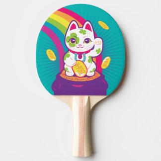 Pala De Ping Pong Mina de oro afortunada de la buena suerte de